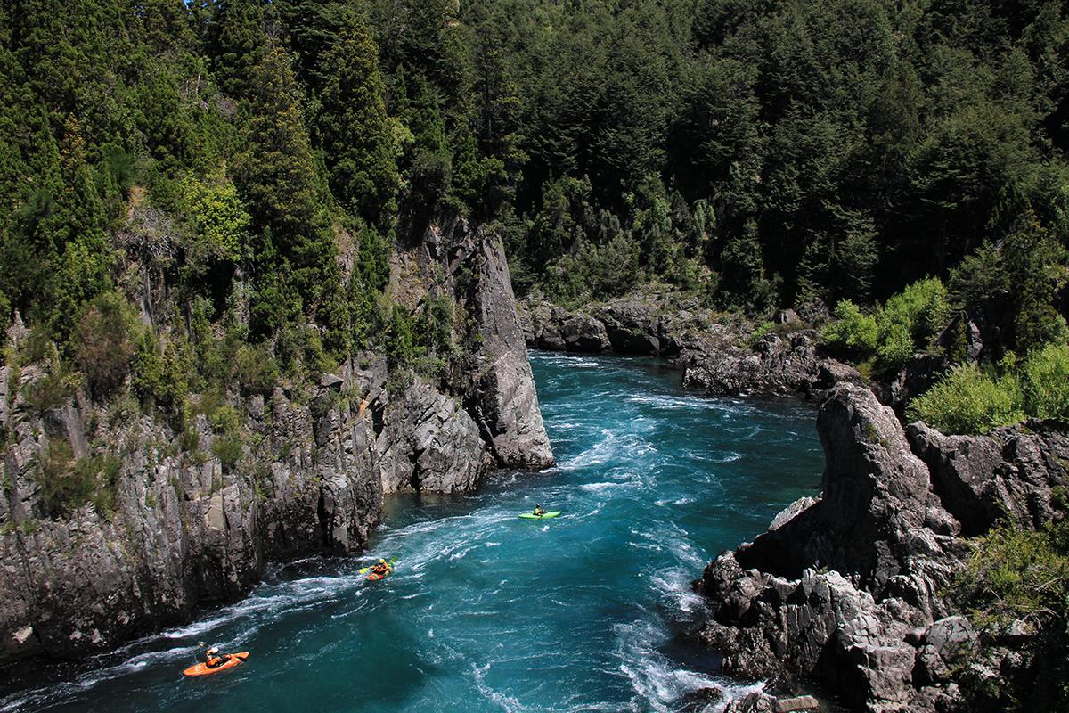 El río Futaleufú. Foto: Jakub Sedivy