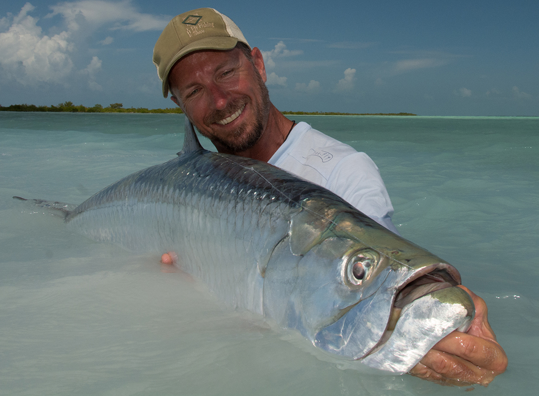 Ben in Cuba. Photo: Fly Fishing Show
