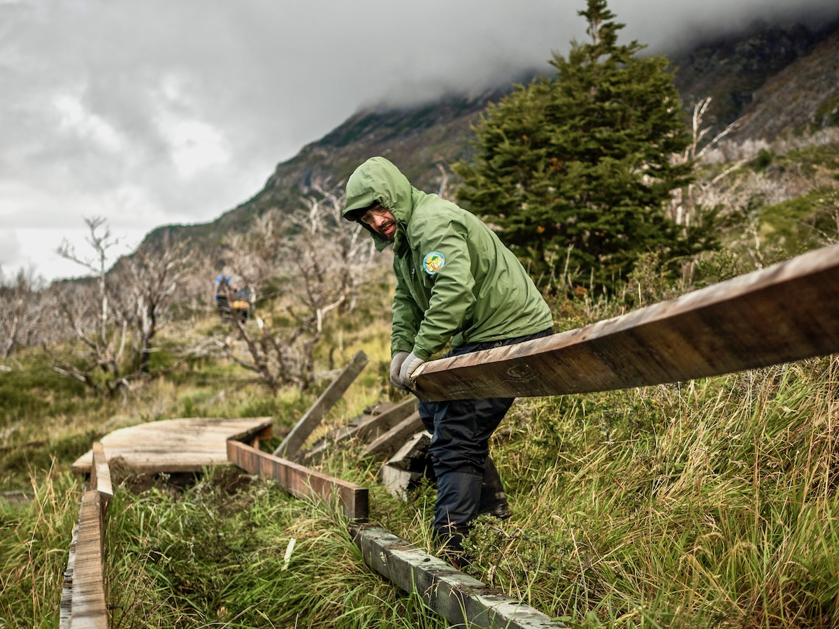 Repairing boardwalk. Photo: Project Eudaimonia