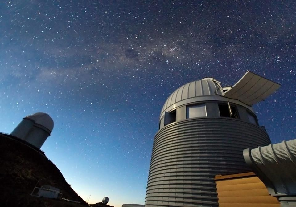 Exoplanet hunters at ESO's La Silla Observatory in Chile. Credit: ESO
