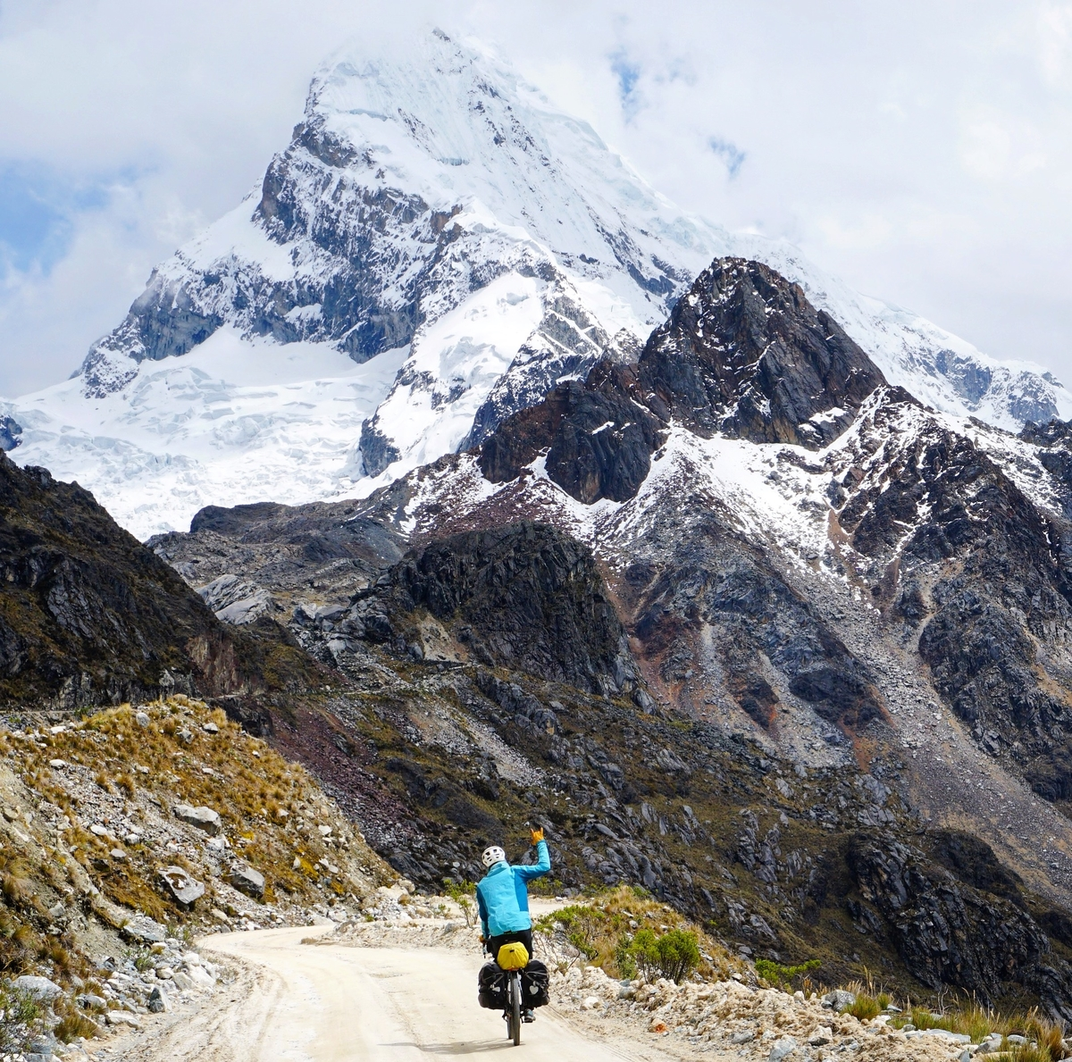Biking near Mendoza, Argentina. Photo: The Spoken Tour