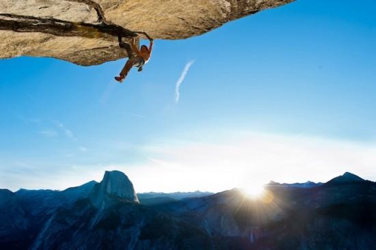 Dean Potter ascensión en solitario en Yosemite.