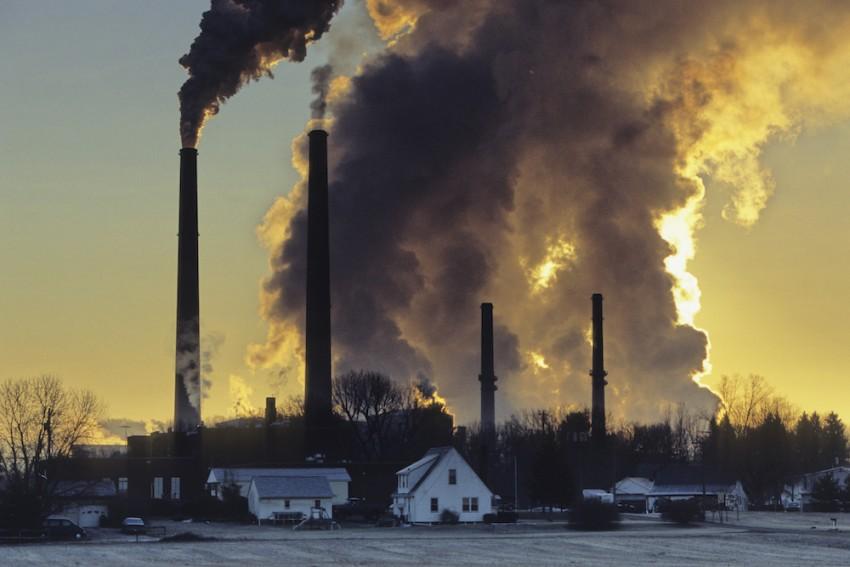 Central de carbón, Conesville, Ohio