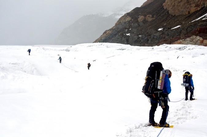 Glacier trek. Foto: Fernando Iglesias